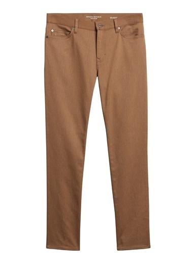 Banana Republic Slim Traveler Pantolon Lacivert